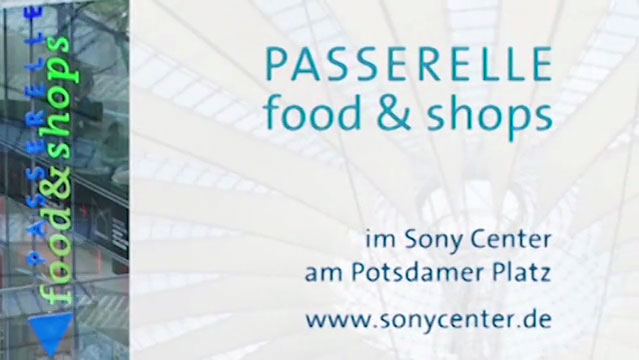 Videoposter Dach Sony Center